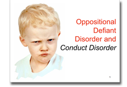 conduct disorders powerpoint
