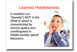 learned helplessness powerpoint