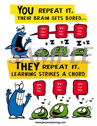 brain gets bored