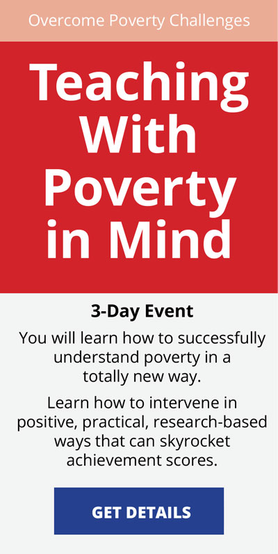 Teaching With Poverty In Mind Workshop